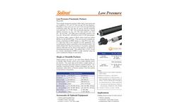 Solinst - Model 800 - Low Pressure Pneumatic Packers Data Sheet