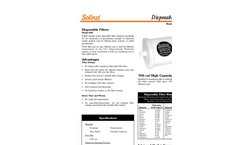 Solinst - Model 860 - Disposable In-Line Filters Data Sheet