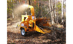 Bandit - Model 65XP 6 inch - Disc-Style Hand Fed Chippers
