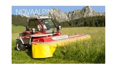NOVAALPIN - Model 221 B - Front-Mounted Disc Mowers