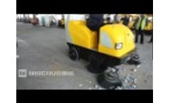 ride on sweeper side open top cover