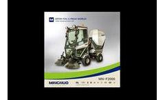 Mingnuo - Model mamut - industrial vacuum cleaner