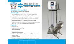 Calf-Star - Mini Batch Colostrum Pasteurizer - Brochure