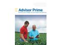 Trimble - Version Prime - Crop Advisors Software Brochure
