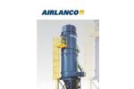 AIRLANCO RLP Low-Pressure Reverse Air Filters - Brochure