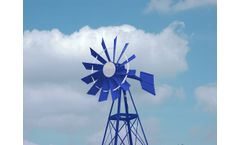 Model 20 3 Legged - Powder Coated Windmill Aeration Systems