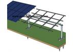 Model CY-ZJ11 - Solar Single Axis Tracker