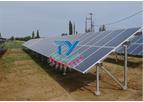 Model CY-ZJ01 - Solar Ground Mounting system