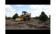 Holt Eraser HGS 50F Christmas Tree Stump Grinder - Video
