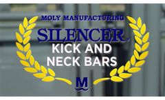 Silencer Hydraulic Squeeze Chute with Kick Bars & Neck Bars - Video