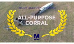 All-Purpose Portable Corral from Moly Mfg - Video