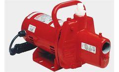 Red Lion - Cast Iron Sprinkler Utility Pump