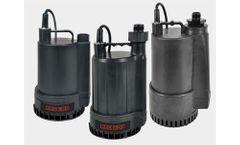 Red Lion - Model RL-MP16, RL-MP25, RL-MP50 - Thermoplastic Utility Pumps