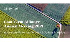 Cool Farm Alliance - Annual Meeting 2021
