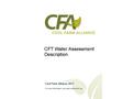 CFT - Water Assessment - Brochure