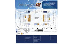 Air Quality Conference 2013 Preview Floor Plan