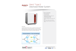 Geno - Model Type 2 - Water | Deionized Water Purification System Brochure