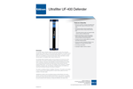Defender - Model UF-400 - Ultrafilter Water Purification System Brochure