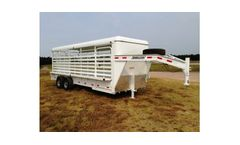 Metal Top Livestock Trailers