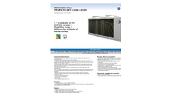 Air Cooled Water Chillers - Brochure
