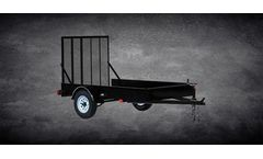 Model MSS Series - Eentry level Utility Trailer
