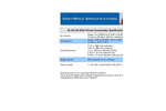 Model AS-201/AS-202A - Thermo Anemometer Specifications - Brochure