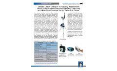 USGBC LEED V4 EQc4 - Air Quality Assessment - Applications Note