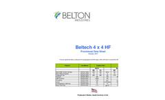 Beltech - Model 4 x 4 HF - Strength Woven Geotextile Brochure