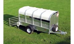 Model 750kg Gross - Pig Trailers / Sheep Trailers
