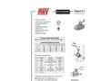 RWV - Model 1380E - PVC Ball Valve