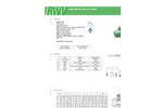 RWV - Model 500AB PP-R - Ball Valve - Brochure