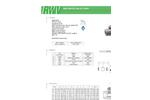 RWV - Model 501AB PP-RCT - Ball Valve - Brochure