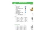 RWV - Model 5044AB LF - Brass Full Port Ball Valve - Brochure