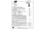 Model 937 - Wafer Style Butterfly Valve - Datasheet