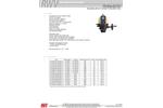 Model Cutter-MOD - Electric Actuator for Butterfly Valve - Datasheet