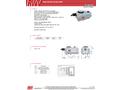 RWV - Model Sloop2 - Electric Actuator - Datasheet