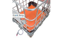 FrankBerg - Model IBC-S150 - Silicone IBC heating pad for IBC's & liner bags