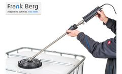 FrankBerg - Model TCB-3200 - IBC container cleaner - High pressure IBC tank cleaning