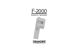 Model F2000 - Digital Hay Meter Manual