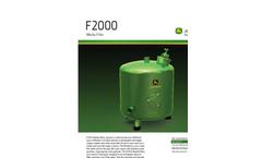 John Deere - F2000 - Media Filter Brochure