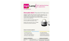 Alis - Symmetry Control Dimmer LED Regulator Brochure