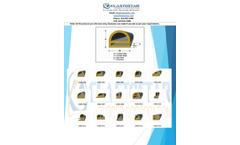Elastostar - Rubber E-Channel / E-Shape / E-Seal & Gaskets Brochure