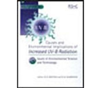 Causes and Environmental Implications of Increased UV-B Radiation