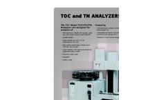 TerraLab - TRL-TOC/IC/TN - Total Carbon and Nitrogen Analyzer (TOC) - Brochure