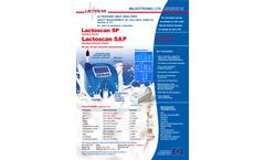 Lactoscan - Model SP Standard - Milk Analyzer - Brochure