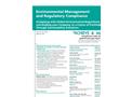 Environmental Management and Regulatory Compliance 2010