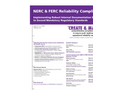 NERC & FERC Reliability Compliance Brochure