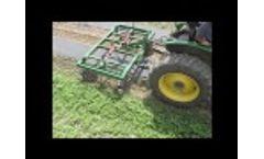 Cultivating Beside Plastic Mulch Video