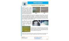 PRO4000X - A Powerful Tool for Sludge Digestion - Product Information Sheet