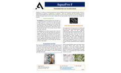 AQUAPRO F Direct Fed Microbial - Product Information Sheet